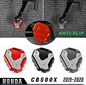 Lorababer Motorradfuß Seitenständer Erweiterung Ständer Pad Platte Anti Rutsch Seitenständer Pad Für H O N D A 2019 2020 Cb500x Cb 500x Cb 500 X Rot Auto