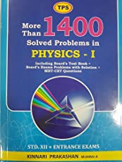 TPS More than 1400 Solved Problems in Physics-1 for Std. 12th and JEE/NEET