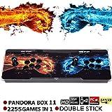 SeeKool Pandora 11 Console per Videogiochi Arcade Machine, 2 Giocatori Joystick Arcade Console 2255 Giochi Tutti in 1 Giochi