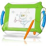 TTMOW Ardoise Magiques Épaissi Jouet éducatif Tableau Dessin Magnetique Coloré Planche à Dessin de Barbouillage pour Enfants (Vert)