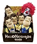 "Hello Neighbor 10"" Plush Toy Set of all 6 Styles -Complete Set"