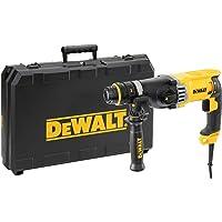 DEWALT D25144K-QS Tassellatore SDS-Plus, 3 Modalità, Doppio Mandrino Attacco Rapido, 900W