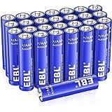 EBL Alcaline AAA Batterie (28 pcs) - 1.5V Tripla a Lunga-Durata Pile Alkaline AAA Potenti con 10 Anni Validità