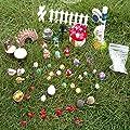 LJY Feengarten Puppenhaus- und Gartendekorations-Set, 52-teilig von LJY auf Du und dein Garten