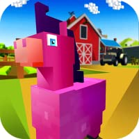 Blocky Pony Farm 3D