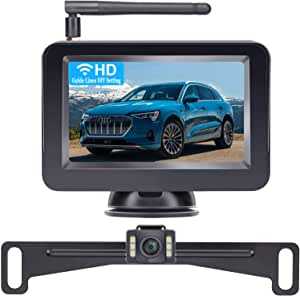 Dohonest Rückfahrkamera Und 10 9 Cm 4 3 Zoll Monitor Set Hd Farbe Geeignet Für Autos