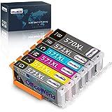 OfficeWorld 6 coloré 570 571XL Remplacer pour Canon PGI-570 CLI-571 Cartouches d'encre pour Canon Pixma TS8051 TS8050 TS8053