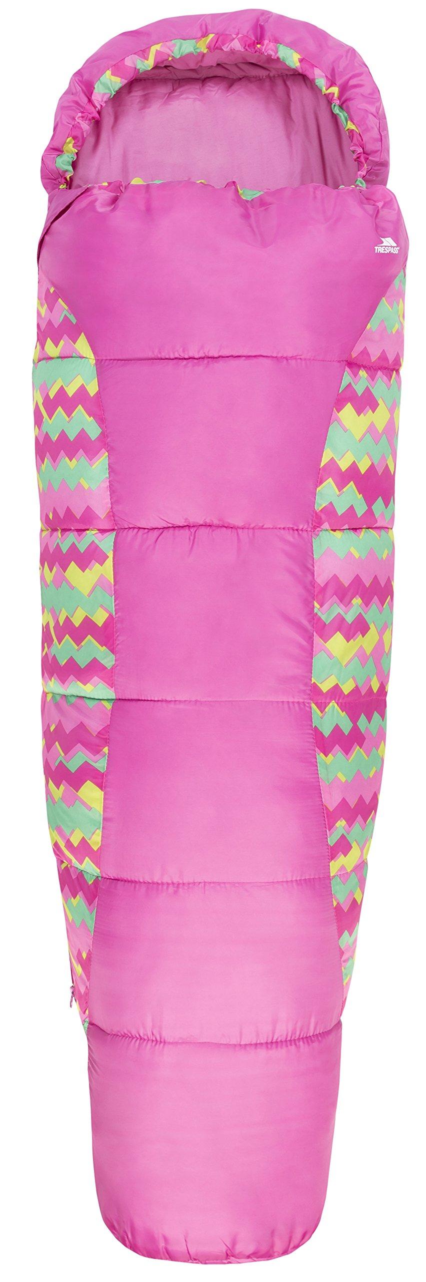 Trespass Unisex Child BUNKA 3 Season Sleeping Bag with Hollow Fibre Filling 2