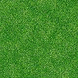 Football Icing Sheets - Footballs, Grass and Hexagons (Grass)