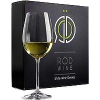 RÖD WINE Bicchieri Vino Bianco - Calici in Cristallo Senza Piombo - Coppa Forma U e Stelo Lungo - Ideali per…