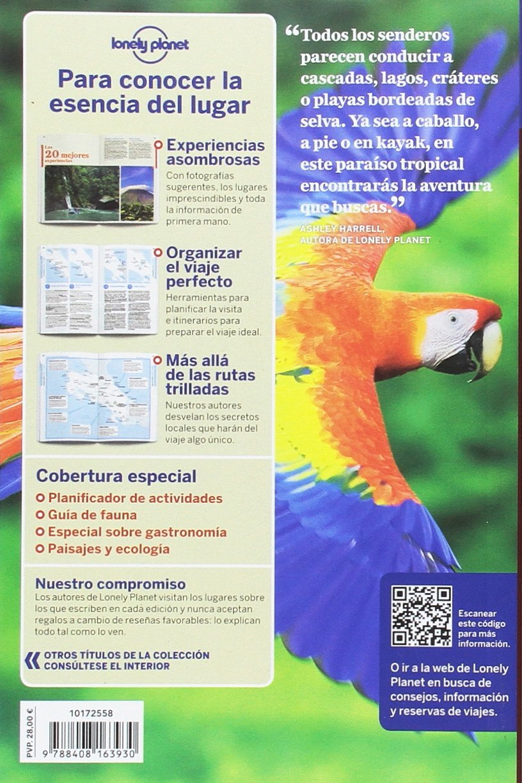 Costa Rica 7 (Guías de País Lonely Planet) [Idioma Inglés] 1