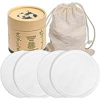 YZCX Dischetti Struccanti Lavabili in Bambù e Cotone 20 Pezzi Dischetti Struccanti Riutilizzabili Cuscinetti per…