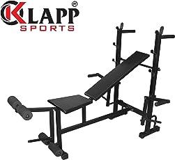 Klapp 8 In 1 Adjustable Weight Bench