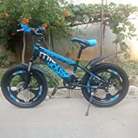 Amardeep cycles Mitco World 20T Sports Kids Cycle Age Group 7-12 Years with Magnesium Alloy Wheels and Dual Disc Brakes