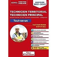 Concours Technicien territorial - Technicien principal - Catégorie B - Tout-en-un: Externe, interne, 3e voie, examens…