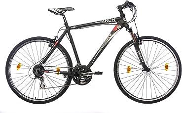 Tretwerk Arch 1.0 28 Zoll Crossbike Schwarz