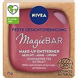 NIVEA MagicBAR Feste Gesichtsreinigung Make-Up Entferner (75g), fester Gesichtsreiniger für Gesicht, Augen & Lippen, zertifiz