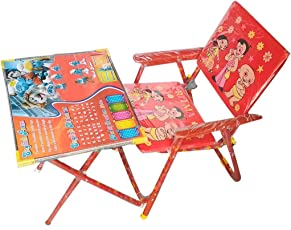 SR Collection Amazing Combo for Kids Study+Health Both are Same Place with................ Kids Table and Chair Set and for a Boxing Set Kit Punching Bag