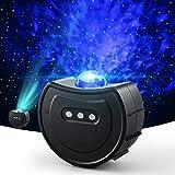 Proyector Estrellas, OCDAY Proyector de luz de estrellas con estrellas y lunas, olas del océano para regalos, niños, fiestas,