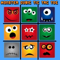 Monster Cubic Tic Tac Toe