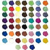 Bedler Cosmetische kwaliteit mica poeder pigment voor zeepbad bommen minerale make-up nail art Pigment voor zeepbommen