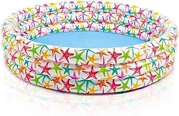 Intex 56440NP - 3-Ring Pool, Color Splash