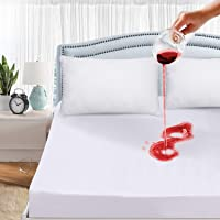 RestAssurre Premium Smooth Fabric Waterproof and Dustproof Mattress Protector/Bed Cover (Colour -White, Size -72 x 36)