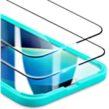 ESR Verre Trempé Ultra Résisitant Compatible avec iPhone 13/13 Pro, Protection d'Écran avec Cadre d'Instalation Facile, Hyper