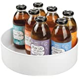 mDesign plateau tournant pour épices, condiments, etc. – rangement de cuisine en plastique– carrousel cuisine pour placard, r