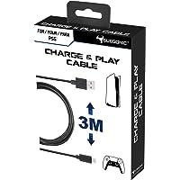 Subsonic - Accessoire - cable de recharge USB C XXL de 3 mètres pour manette Dual Sense PS5 - Playstation 5