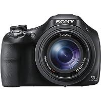 Sony DSC-HX400V Fotocamera Digitale Compatta Bridge con Sensore CMOS Exmor R da 20.4 MP, Ottica Zeiss, Zoom Ottico 50x…
