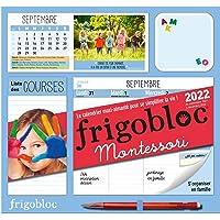 FRIGOBLOC HEBDOMADAIRE MONTESSORI 2022 - 16 MOIS - (DE SEPT. 2021 À DÉC. 2022): Le calendrier maxi-aimanté pour se…
