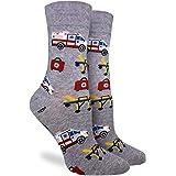 Good Luck Sock Women's Paramedic Socks - Grey, Adult Shoe Size 5-9