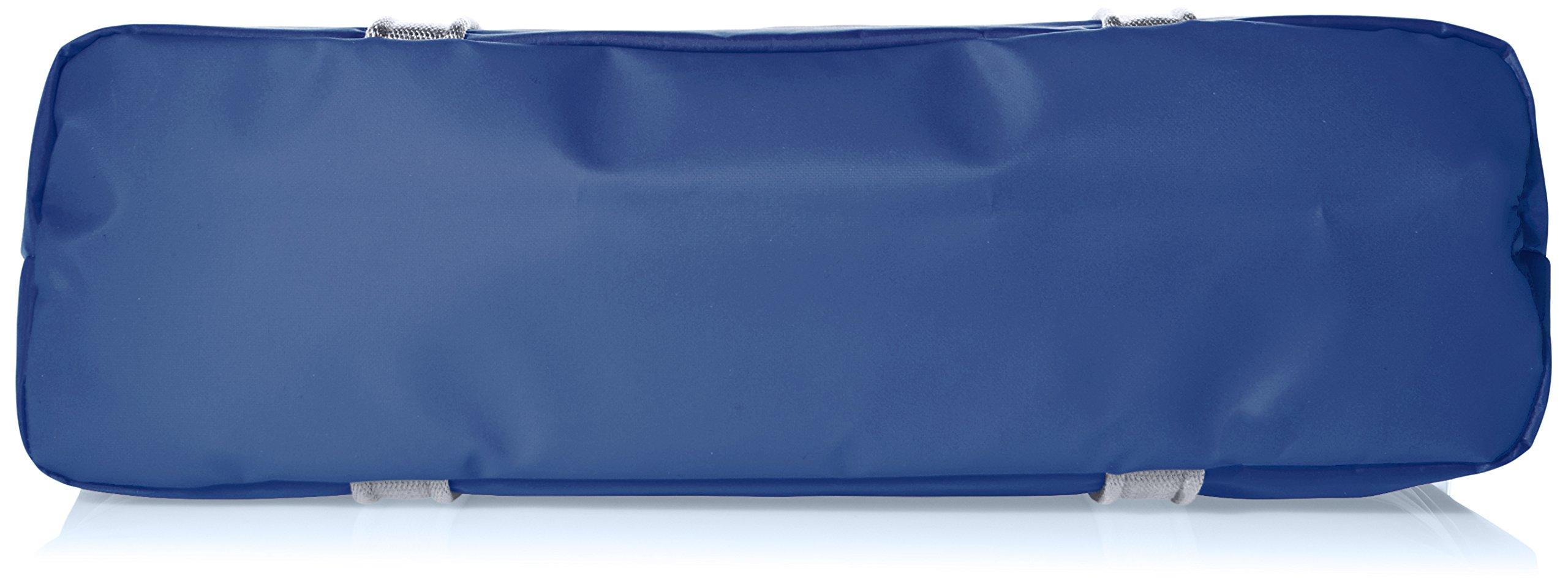 Adidas Bolso de asas de poliéster para hombre azul azul