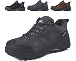 SUADEX Safety Shoes Work Shoes Steel Toe Cap Trainers Mens Women Lightweight Comfortable Breathable, 4-12.5 UK