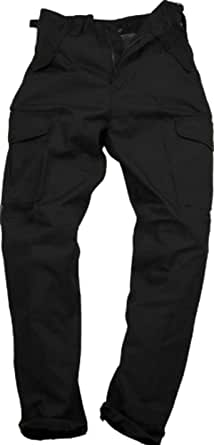 Ss Mens Police Security MOD Army Military Combat Cargo Trousers Black or Navy Blue