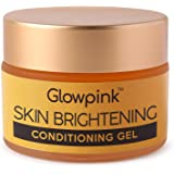 Glowpink Skin Brightening Conditioning Gel For Glowing Skin, Pigmentation & Spot Removal, Herbal Gel Moisturizer for face Wit