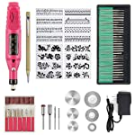 TEEPAO 53/70 PCS Micro Engraver Pen Tool Kit Corded Multi Function DIY Vibration Engraving Equipment for Metal Glass...