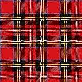 Ambiente 20 St. Servietten Papierservietten 3-lagig Scottish Red Schottisch Scotland Kariert Rot 33 x 33 cm