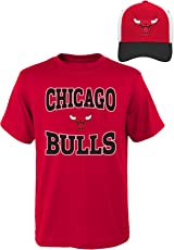 NBA Youth Boys 8-20 Bulls Tee & Hat Set