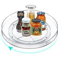 MeCids Grand organisateur de placard Lazy Susan - Organisateur de cuisine à plateau tournant à 360° - Bacs de rangement…