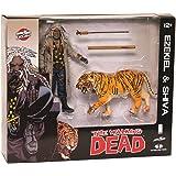 The Walking Dead Bloody Ezekiel & Shiva All Out War Action-Figurs