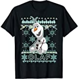 Disney Frozen Olaf Ugly Christmas Sweater T-Shirt