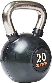 Ziva ZVZSL-RBKB-4309 Sl Rubber Kettlebell, Black