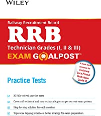 Wiley's Railway Recruitment Board (RRB) Technician Grades (I, II & III) Exam Goalpost, Practice Test