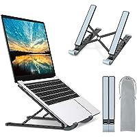 Babacom Support Ordinateur Portable, Support PC Portable à 9 Niveaux Réglables, Refroidisseur en Aluminium Ventilé…