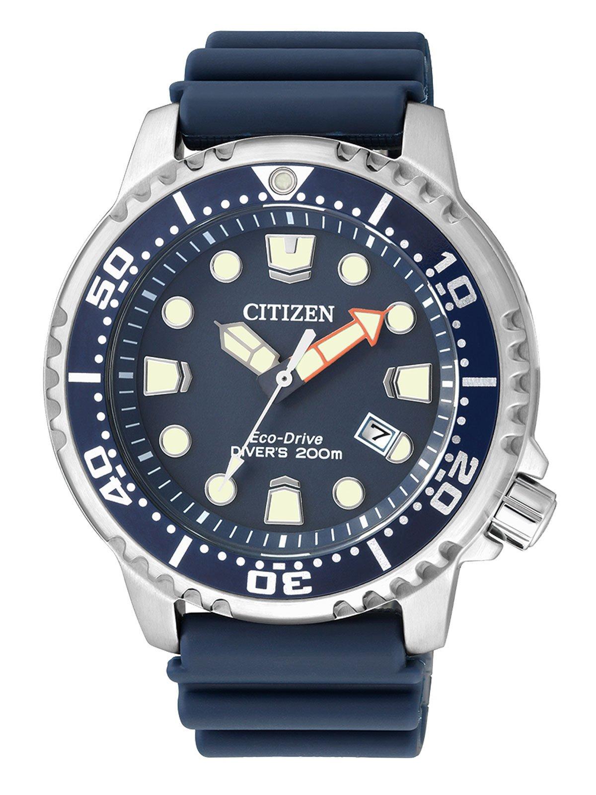 Citizen Reloj Analógico para Hombre de Cuarzo con Correa en Plástico BN0151-17L 1