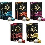 L'OR Origins Espresso Coffee Bundle – Cápsulas de Aluminio Compatibles con Máquinas Nespresso (R)* - 10 paquetes de 10 cápsul