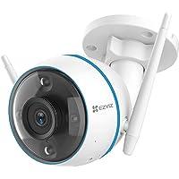 EZVIZ CTQ3N Telecamera WiFi Esterno 1080p, Videocamera Sorveglianza Esterno WiFi con Visione Notturna a Colori 30m, IP…