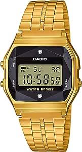 Casio - Montre Multifonction Bracelet Acier doré Casio Vintage (a159wged-1ef)